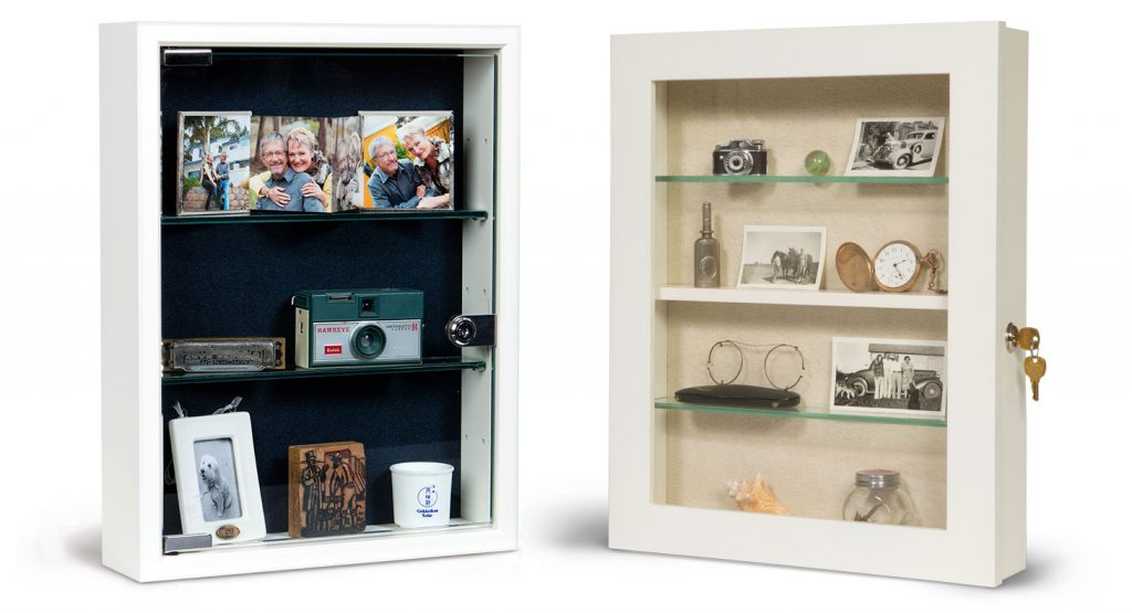 Style 1 and Style 3 Wall Mount Memory Boxes