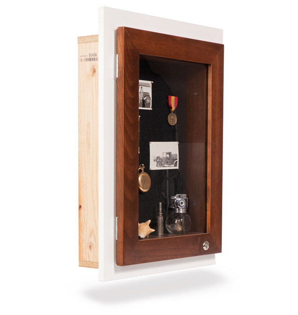 Recessed Memory Box - New Construction - Remodel Construction - Assisted Living Memory Boxes