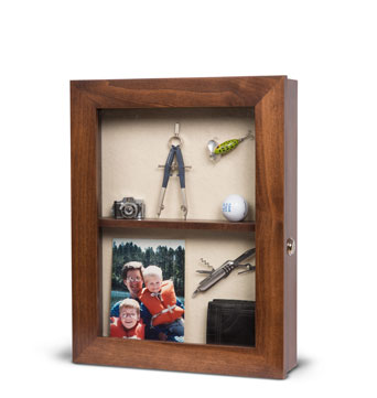 Assisted Living Memory Box Style 1 - Elder Care Living memory Box - Senior Care Facility Shadow Boxes - Custom Display Designs
