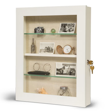 14x18 Assisted Living Memory Box - Wall Mounted Shadowbox - Senior Citizens assisted living Memory Box - Custom Disply Design