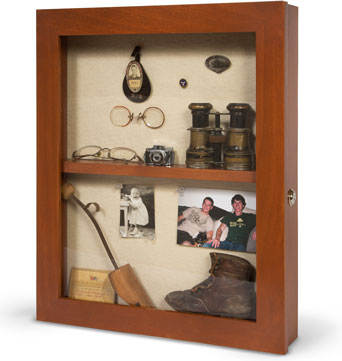 16x20 Assisted living Memory Box - Wall Mounted Shadow Box - Dementia Care Assisted Living Memory Box - Custom Disply Design