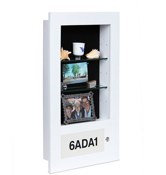 Dementia Patient Memory Box - Memory Care Memory Box - Assisted Living Memory Box - Recessed in Wall Memory Box - Custom Display Memory Boxes