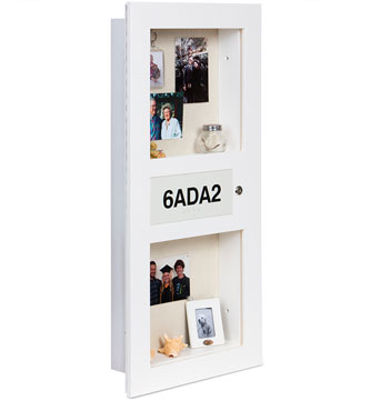 Assisted Living Decor - Elder Care Living memory Box - Senior Care Facility Shadow Boxes - Custom Display Designs