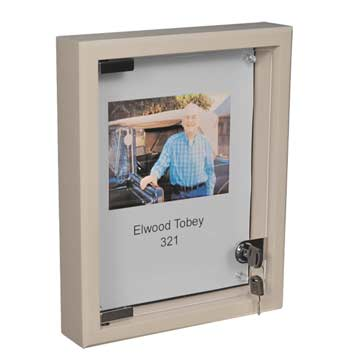 12x16 Elder Care Memory Box - Hardwood Shadowbox - Dementia Care Memory Box - Custom Disply Design