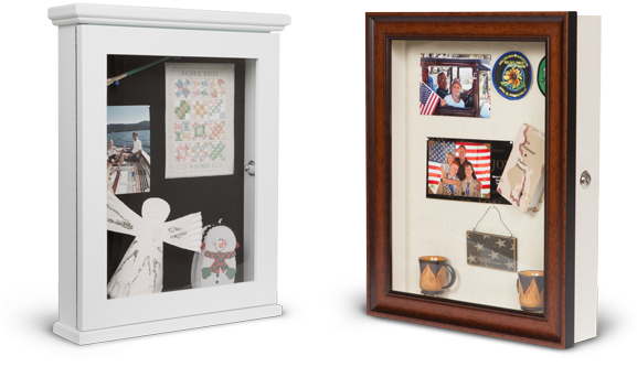 shadow boxes - keepsake boxes - senior assisted living - demential care facilities